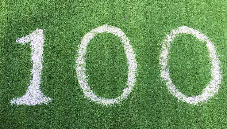 100 Written on Grass