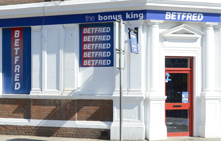 Betfred High Street Betting Shop