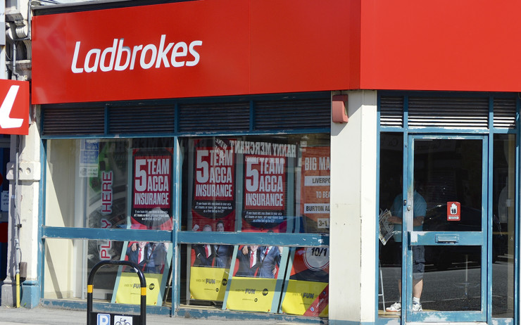 Ladbrokes High Street Betting Shop