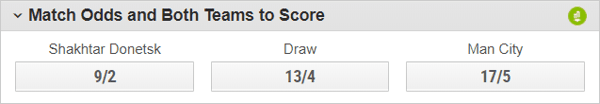 ladbrokes both teams to score (btts) and win