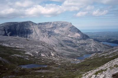 Arkle Mountain in Scotland