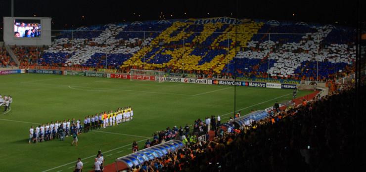 APOEL Champions League Match