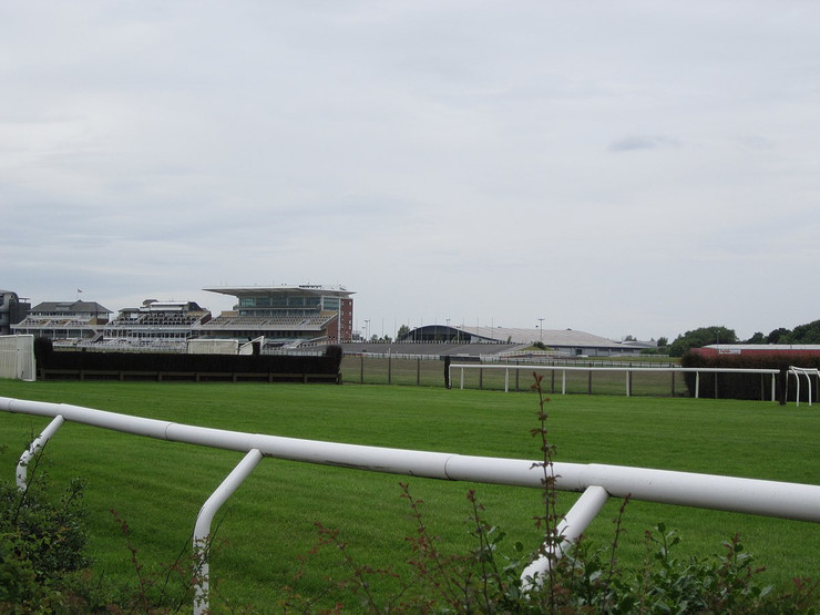 Aintree Racecourse and Fence