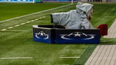 Champions League Televion Camera