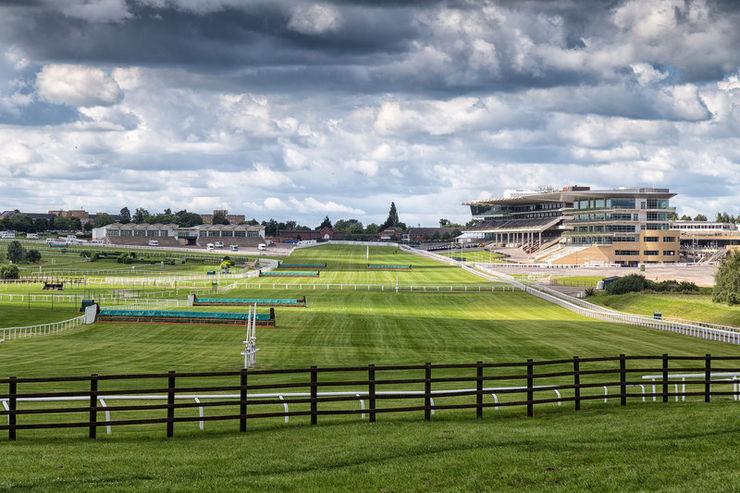 Cheltenham Racecourse Home Straight