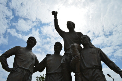 Statue of England's 1966 World Cup Winners