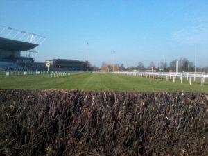 Final Fence at Kempton Park Racecourse