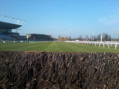Final Fence at Kempton Park Racecourse