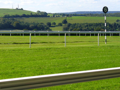 Goodwood Racecourse Six Furlong Marker