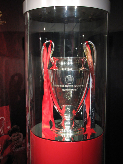 European Cup at Liverpool's Anfield Museum