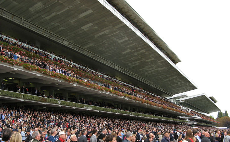 Main Grandstand at Longchamp Racecourse