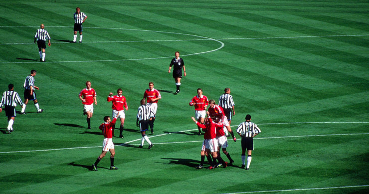 Manchester United Versus Newcastle United 1999 FA Cup Final