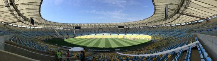 Maracana Stadium in Rio Brazil