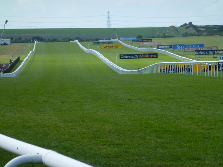 Newmarket July Course Straight