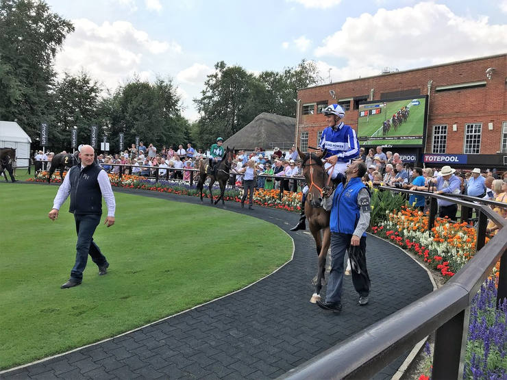 Newmarket July Course Parade Ring