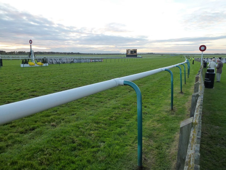 Winning Line at Newmarket's Rowley Mile