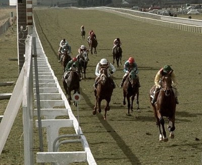 Nijinsky Winning the Gladness Stakes at the Curragh in 1970