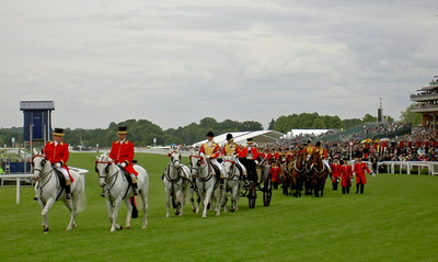 Royal Carriages at Royal Ascot