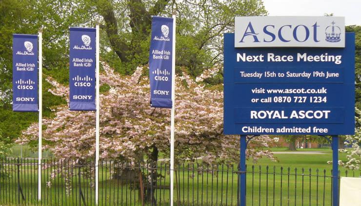 Ascot racecourse Next Meeting Board