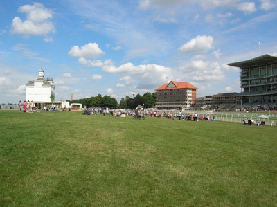 York Racecourse from the Inner Rails