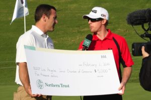 The Northern Trust golf tournament winner