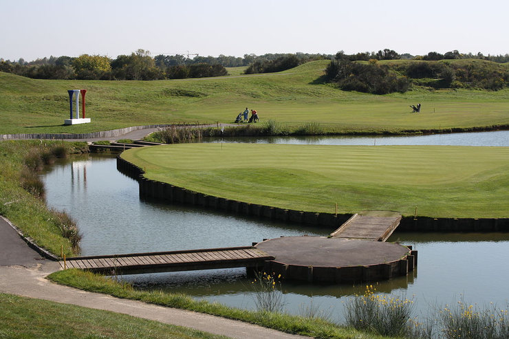 Hole at Le Golf National Course