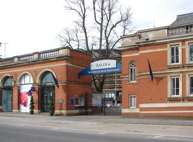 Ascot Racecourse Entrance