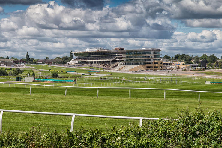 View Across Cheltenham Racecourse