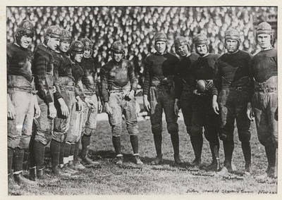 Berkley American Football Team in 1920