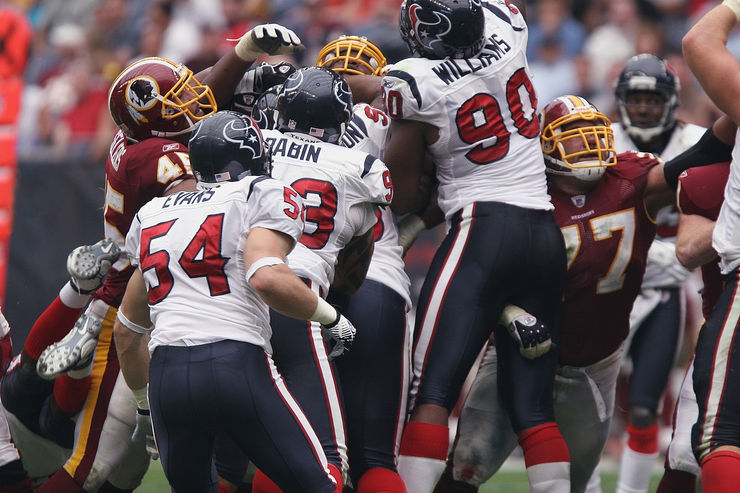 Washington Redskins Versus Houston Texans Game