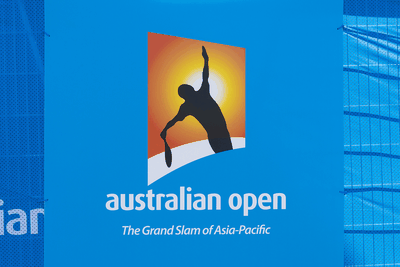 Australian Open Logo on Billboard