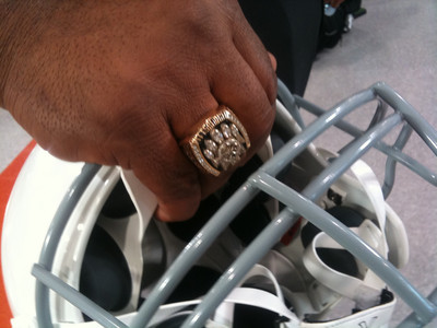 Jerome Bettis Super Bowl Ring
