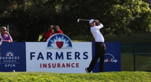 The Farmers Insurance Open Sign