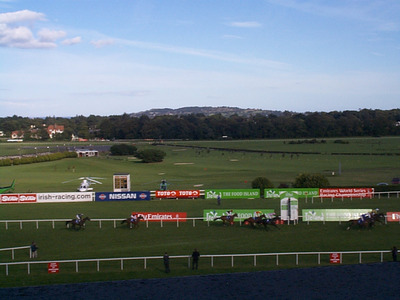 Finish Line at Leopardstown Racecourse