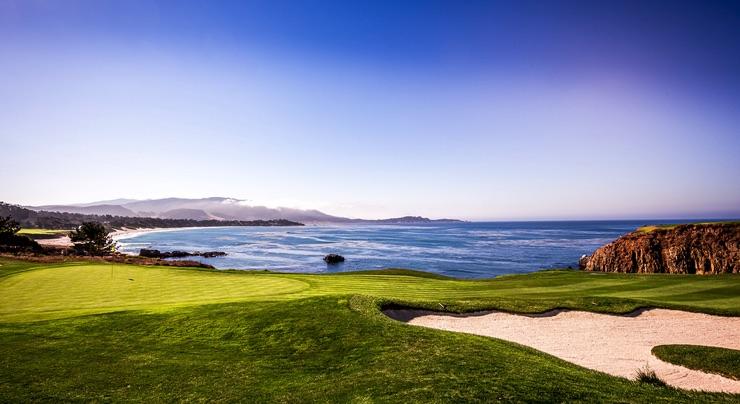 Pebble Beach Golf Course in Monterey, California