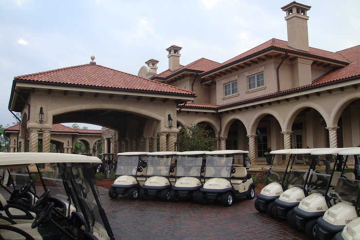 TPC Sawgrass Golf Buggies