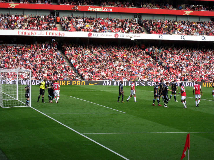 Arsenal Corner Versus West Ham