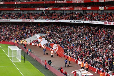 Arsenal Emirates Stadium Before Match