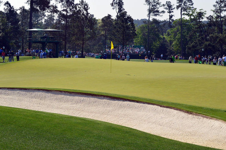17th Hole at the Augusta National Golf Course