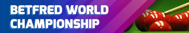 Betfred World Snooker Championship Screenshot
