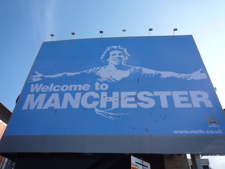 Welcome to Manchester Carlos Tevez Poster