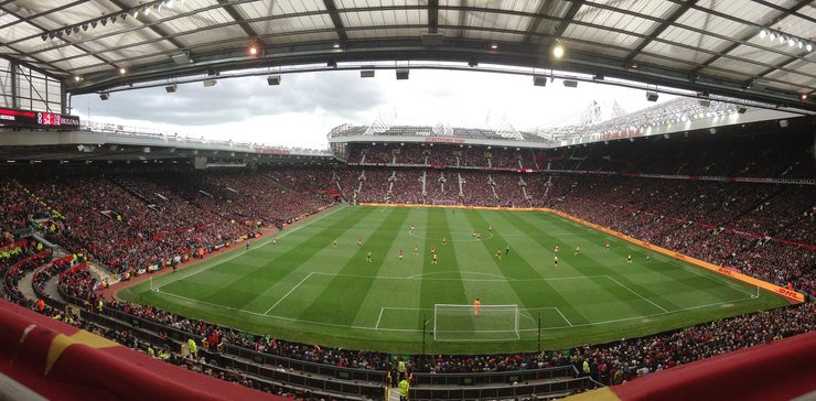 Manchester United Game at Old Trafford