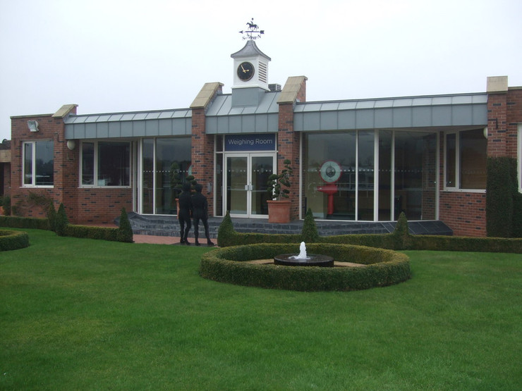 Weighing Room at Chester Racecourse