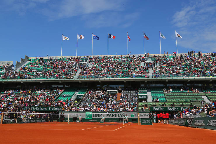 Court Philippe Chatrier at Roland Garros
