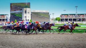 The Kentucky Derby Race at Churchill Downs