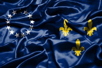 Former Flag of Louisville, Kentucky