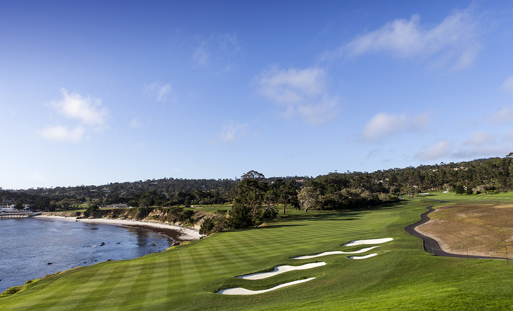 Pebble Beach Golf Course Fairway