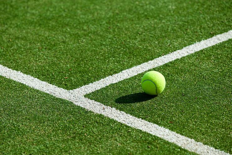 Tennis Grass Court Markings