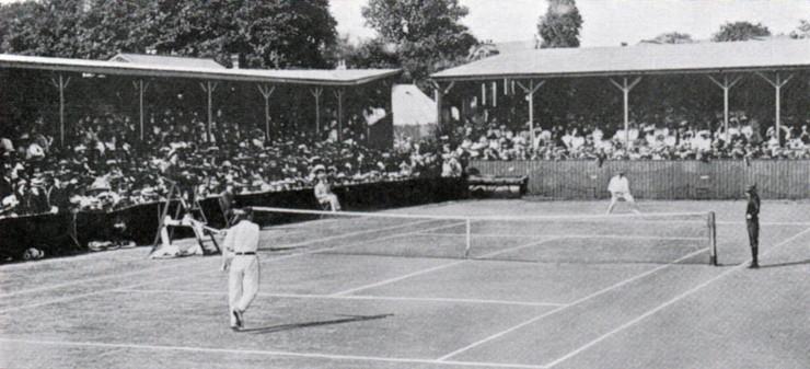 1908 Mens Final Between Arthur Gore and Herbert Roper Barrett
