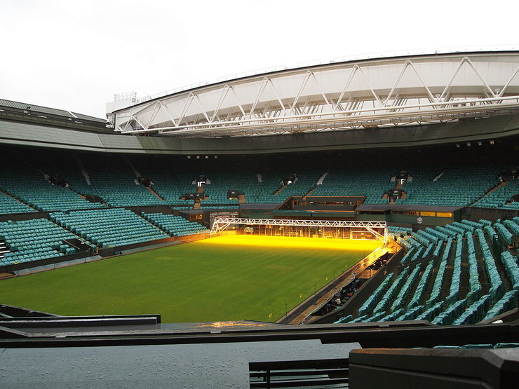 Centre Court Wimbledon When Not in Use